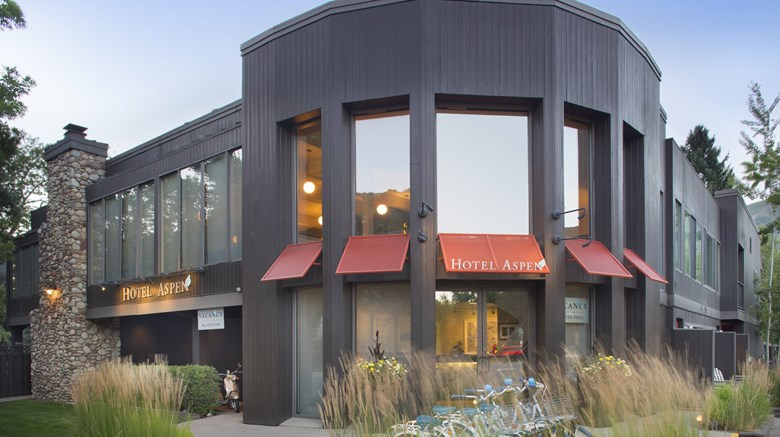 "Hotel Aspen Exterior. Images powered by <a href=&#39;http://www.leonardo.com&#39;  target=""_blank"">VFM Leonardo</a>."