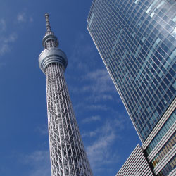 The Tokyo Skytree offers the highest views of Tokyo. // © 2013 Japan National Tourism Organization