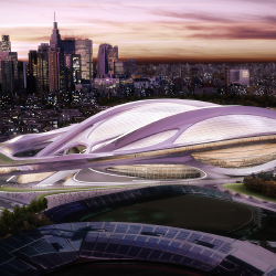 Tokyo's National Olympic Stadium will undergo an extensive renovation. // © 2013 Japan Sport Council/Japan Olympic Committee