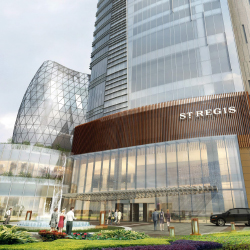 The St. Regis Chengdu will be the company's 32nd hotel. // © 2014 Starwood hotels & resorts Worldwide