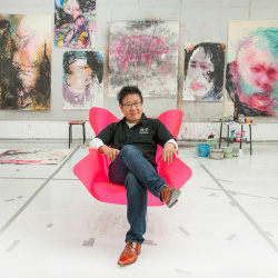 <p>Artist Jiwei Li in his studio in the 798 district of Beijing  // © 2014 Mark Edward Harris</p><p>Feature image (above): At night, Hou Hai Lake...
