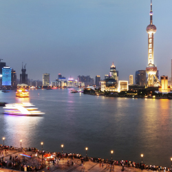 Cruising the Huangpu River is a great way to absorb Shanghai's signature heritage and contemporary sites. // © 2014 Thinkstock/ Liufuyu