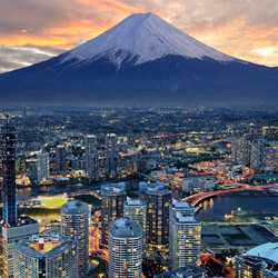 Officials expect tourism in Japan to increase as the 2020 Olympics in Tokyo approach. // © 2014 Thinkstock