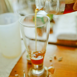 Learn to make bubble tea at the Chun Shui Tang teahouse in Taichung. // © 2014 Shane Nelson