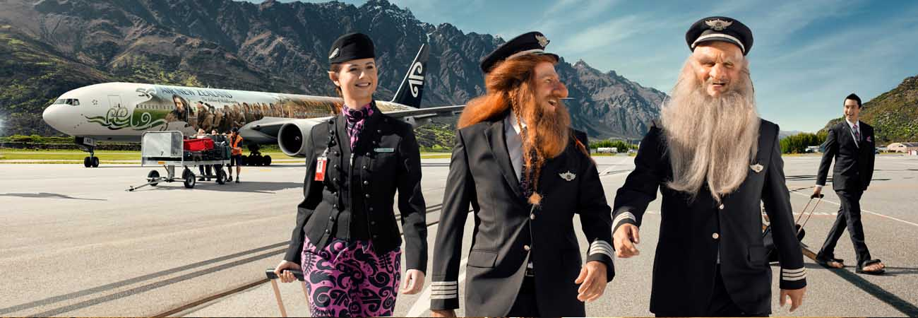 Air New Zealand Hobbit Plane Continues Middle-earth Promotion