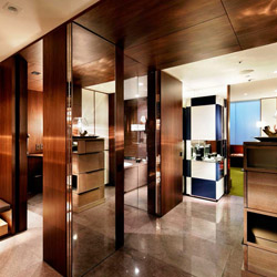 The Andaz Tokyo Toranomon Hills is one of the many properties opening in Japan in anticipation of the 2020 Olympic Games. // © 2014 Andaz Tokyo...