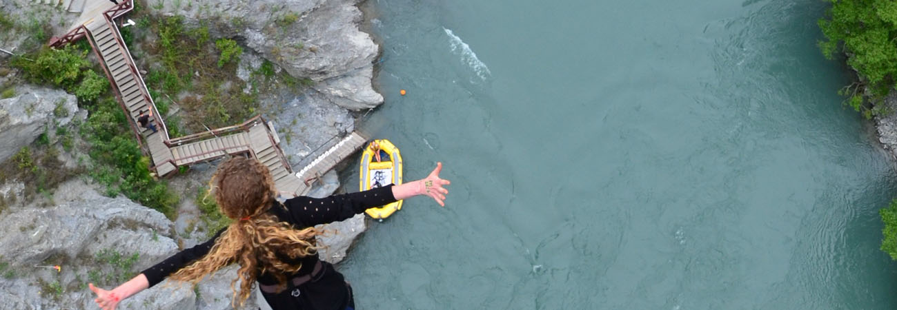 Surviving Bungee Jumping in New Zealand
