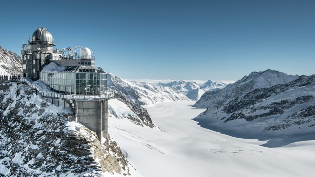 "If good weather is expected, be sure to head to Jungfraujoch, the so-called ""Top of Europe."" // © 2016 Top of Europe 2"