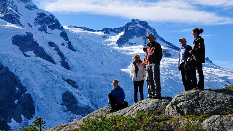 The property offers both heli-hiking and heli-skiing.