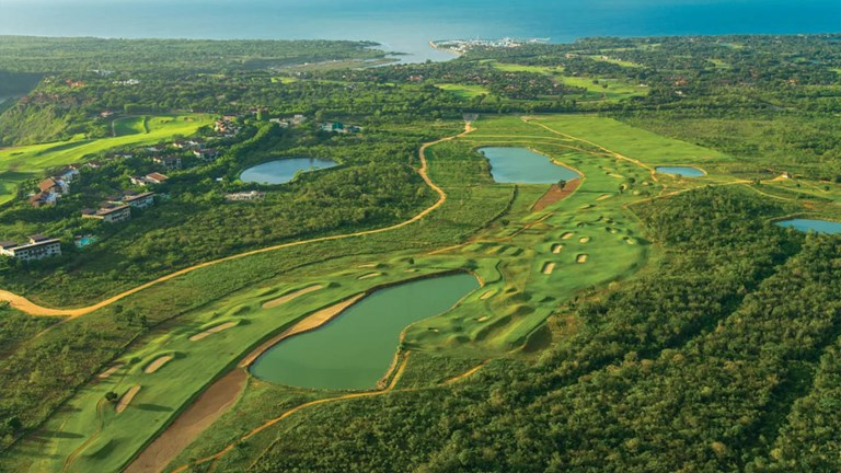 Dye Fore at Casa de Campo Resort was designed by Pete Dye.