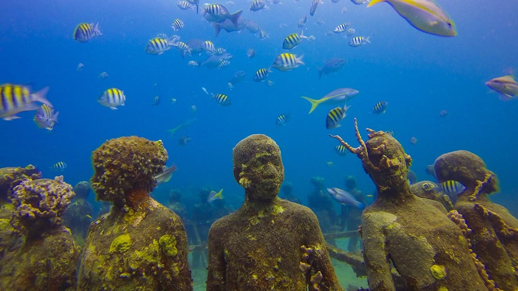 What to Know About Grenada's Underwater Sculpture Park