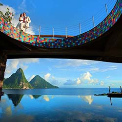 <p>Jade Mountain Resort, designed by architect Nick Troubetzkoy, features 29 suites and incredible views. // © 2014 Jade Mountain Resort</p><p>Feature...