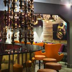 The adults-only Nesta Rasta Lounge offers a wide selection of Caribbean rums. // © 2014 Karisma Hotels