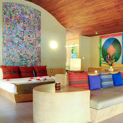 Alma Del Pacifico is a colorful boutique property located on an uncrowded beach in Costa Rica's Central Pacific coast. // © 2014 Alma Del Pacifico...