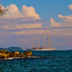 Star Clippers sails to Costa Rica and beyond. // © 2013 Star Clippers