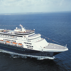 The Ryndam will be transferred from Holland America Line to P&O Cruises in Australia. // © 2014 Carnival Corp & plc