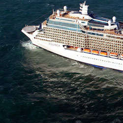 Celebrity Equinox has joined a small fleet of ships collecting scientific data with an onboard research lab. // © 2014 Celebrity Cruises