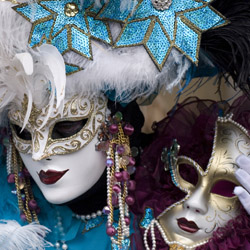 CroisiEurope offers two cruises that stop at Venice during Carnival. // © 2014 Thinkstock