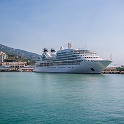 Travel agents want more information about whether cruise itineraries will include the Ukraine this spring, including Yalta shown here. // (c) 2014...
