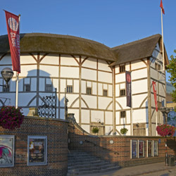 Shakespeare's Globe is honoring Shakespeare's 450th anniversary with productions of his plays and a world tour of Hamlet Globe to Globe. // 2014 ©...