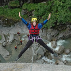 Outdoor Interlaken offers a variety of adventure sports from canyoning to river rafting. // © 2013 Outdoor Interlaken