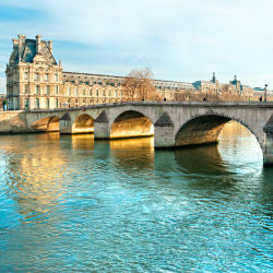 The Louvre Museum and Port Royal, Paris // © 2014 Thinkstock