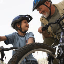 Families can take a cycling vacation with Trek Travel. // © 2013 Thinkstock