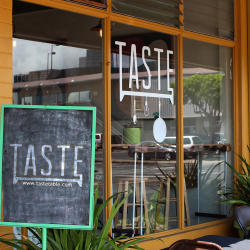 The pop-up restaurant Taste is one of Oahu's Many new dining adventures. // © 2013 Park Restaurant