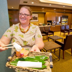 Four Seasons Lanai's new airport lounge provides travelers with special perks. // © 2014 Four Seasons Resorts Lanai