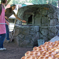 Every week the Kona Historical Society hosts a free demonstration on how to make traditional Portuguese bread. // © 2014 Kona Historial Society