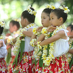 Engage clients with the Hawaiian culture for a more enjoyable and enriching travel experience. // © 2013 Prince Lot Hula Festival
