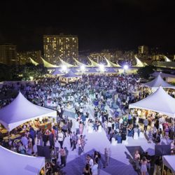 The annual Hawaii Food and Wine Festival regales foodies with distinctive island flavors. // © Hawaii Food and Wine Festival