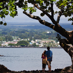 Among Hilo's many charms is its beautiful bayside setting. // © 2014 HTA and Tor Johnson