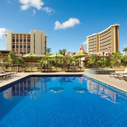 <p>The TAG-approved Holiday Inn Waikiki Beachcomber Resort pulls out the stops for its LGBT guests. // © 2014 Holiday Inn Waikiki Beachcomber...