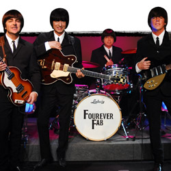 Pacific Beach Hotel's Fourever Fab show pays tribute to the Beatles. // © 2014 Fourever Fab