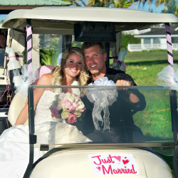 Makai Golf Club now welcomes weddings. // © 2014 Makai Golf Club