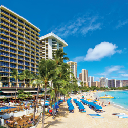 Outrigger Waikiki on the Beach has an ideal location for exploring Honolulu. // © 2013 Outrigger Hotels and Resorts