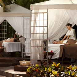 Guest can enjoy a relaxing massage at Casa Velas' spa. // © 2013 Casa Velas