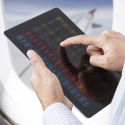 Airlines are updating their mobile device policies. // © 2013 Thinkstock
