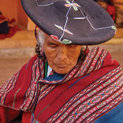 TravelAge West's First Place photograph in 2012 was this portrait of a Peruvian artisan by Nathan DePetris. // (c) 2012 Nathan DePetris