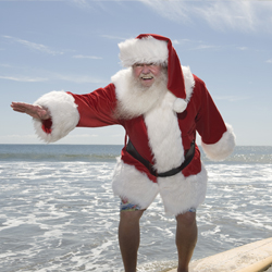 Follow Santa Claus to destinations around the world. // © 2013 Thinkstock