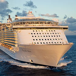 Royal Caribbean Cruise Lines Ship // © 2013 Royal Caribbean International