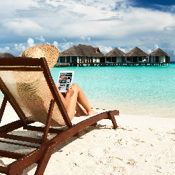 Survey results show that relaxation is one of most important reasons for taking a vacation. // © 2014 Thinkstock