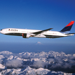 Funjet is reducing deposits for Delta and other airlines. // © 2013 Delta Airlines