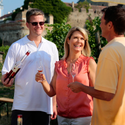 Most travelers enjoy tours that are food or wine related. // © 2014 AmaWaterways