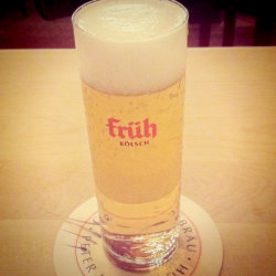 Kolsch beer such as Fruh, served in specially sized glasses, is only brewed in Cologne, Germany // (c) 2011 Lindsay Eyink / Flickr.com