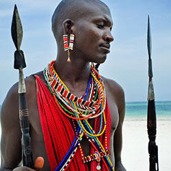 G Adventures offers a Kenya itinerary in which travelers stay with the Masai people in their village. // © 2014 Shangarey