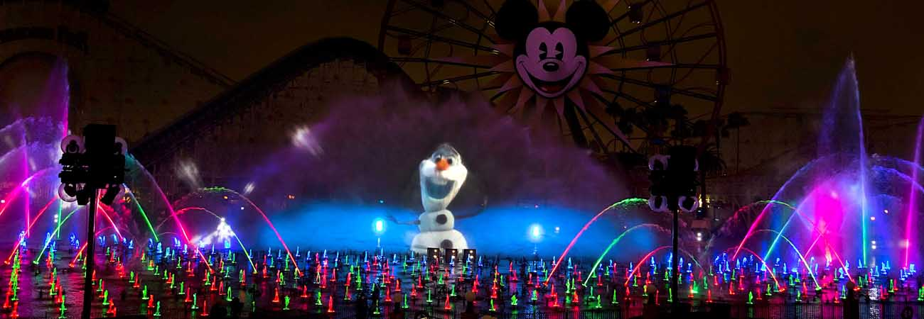 Disneyland's New World of Color