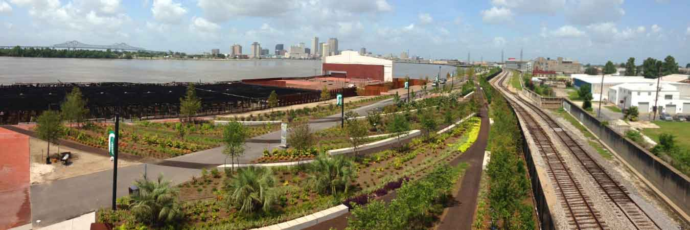 Crescent Park Opens in New Orleans