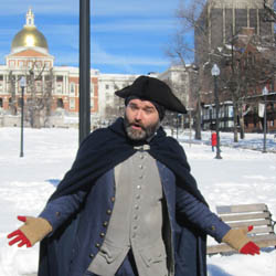 The Freedom Trail Foundation offers daily tours to Boston's historic sites from the American Revolution. // © 2014 Cody Geib